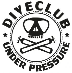 up diveclub logo weiss